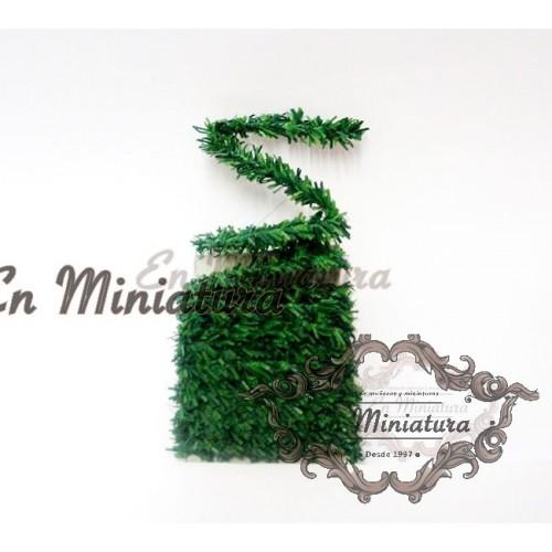 Tira de guirnalda verde