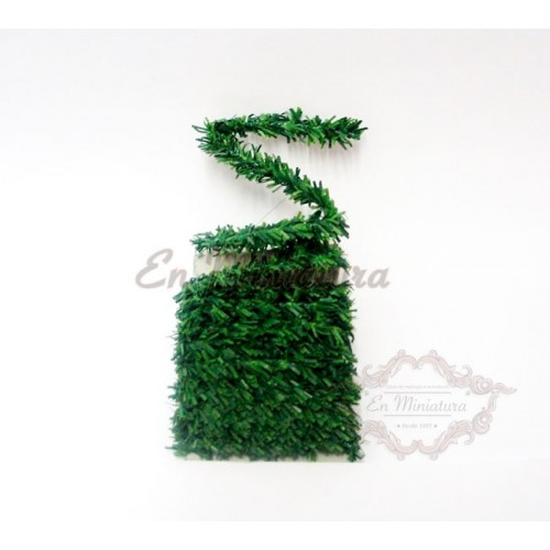 Green garland strip