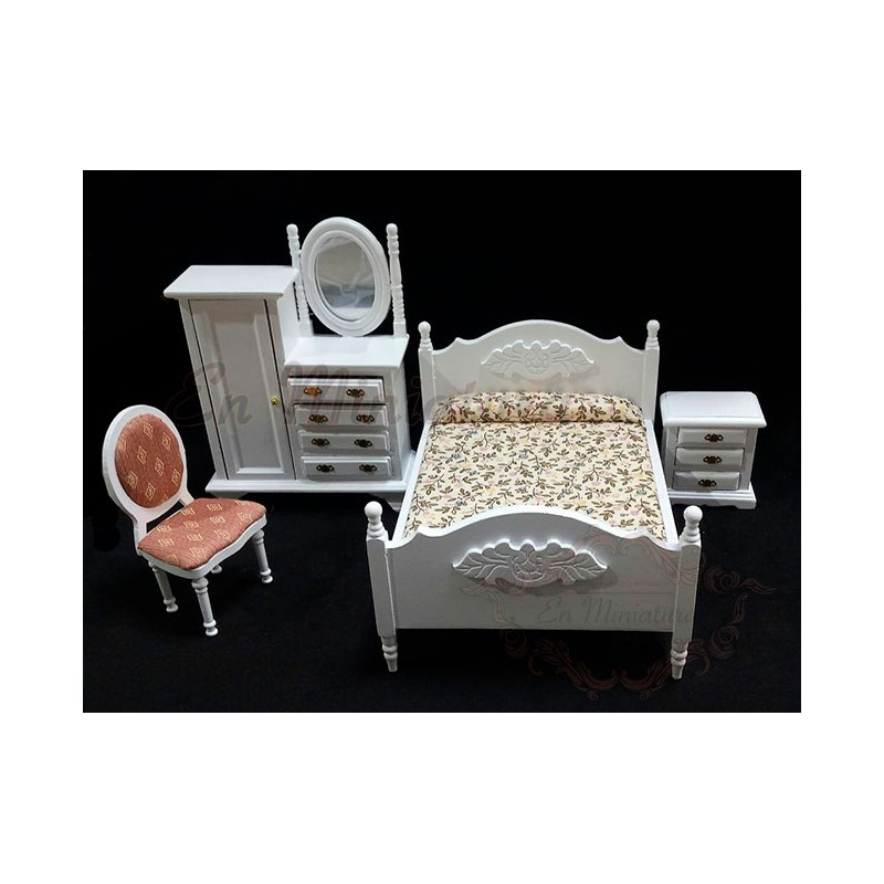 Dormitorio blanco Coqueta