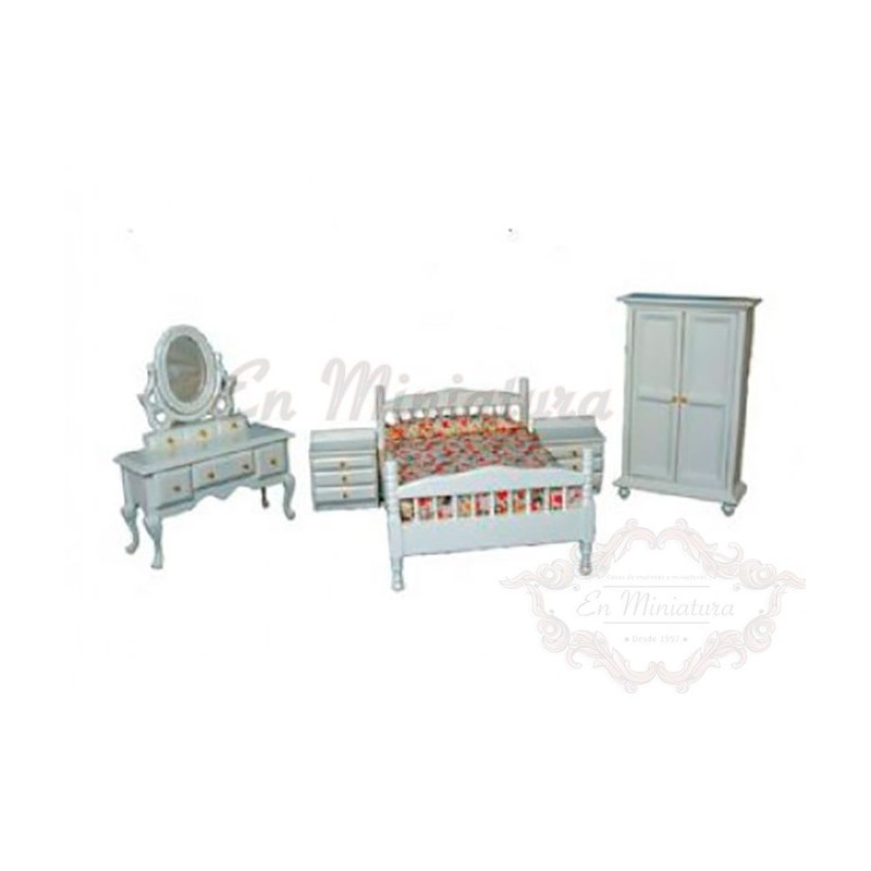 Muebles dormitorio blanco