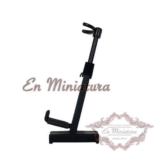 Black instrument stand