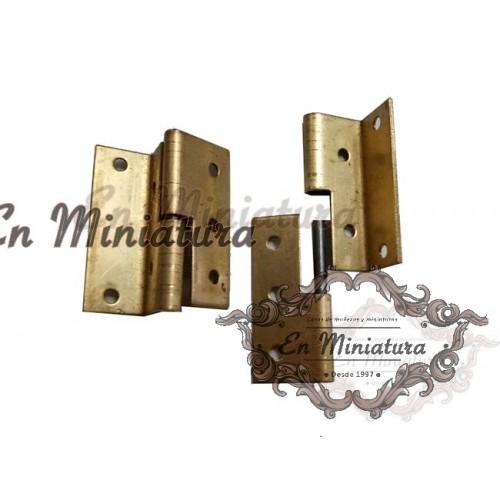 Bisagras para puertas de lado izquierdo, 2 unidades
