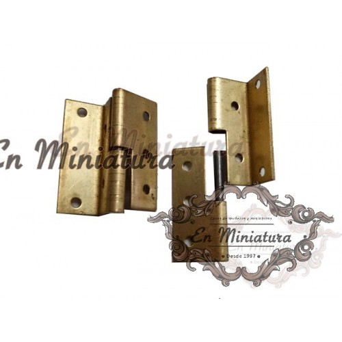 Hinges for left side doors, 2 units