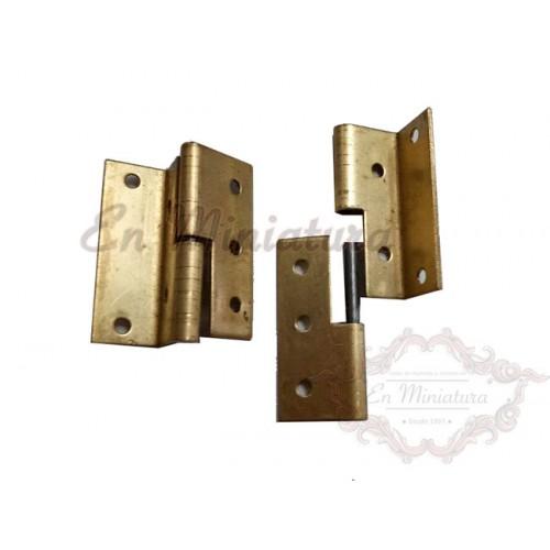 Hinges for left side doors, 2 units