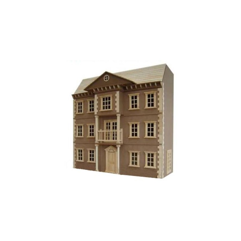 Casa de muñecas The Mayfair sin pintar