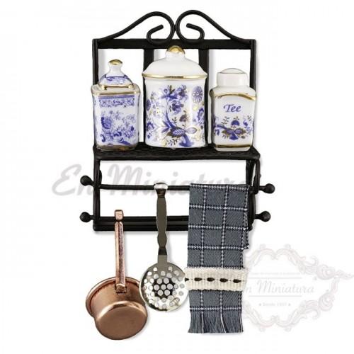 Shelf and kitchen accessories