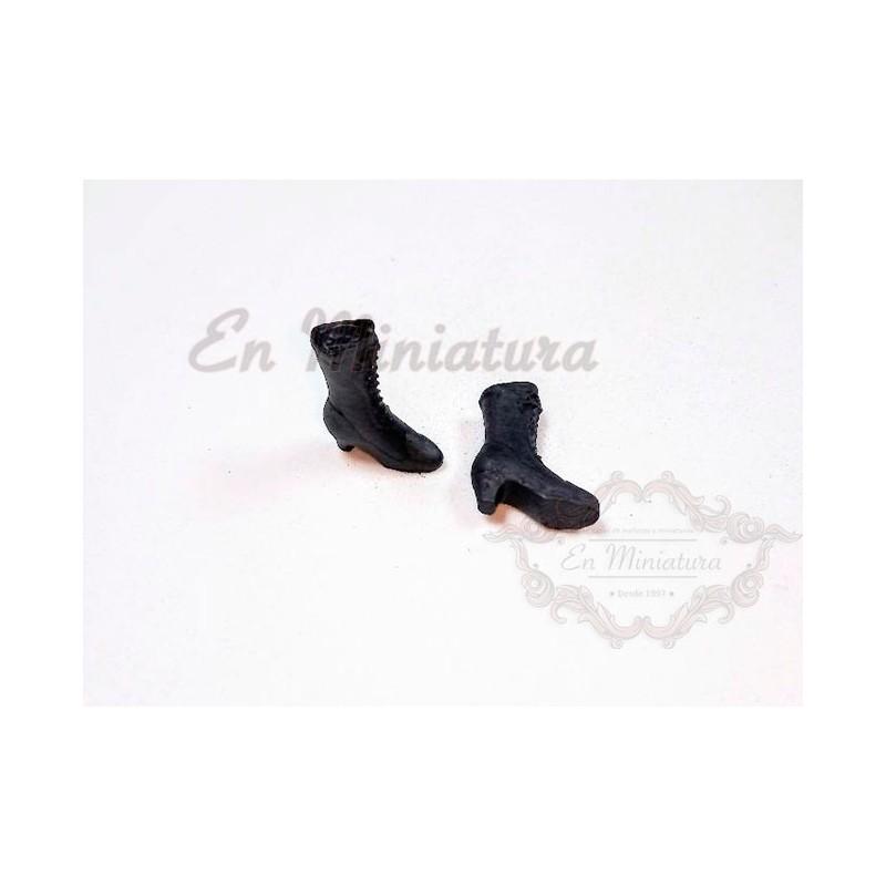 Black boots Woman
