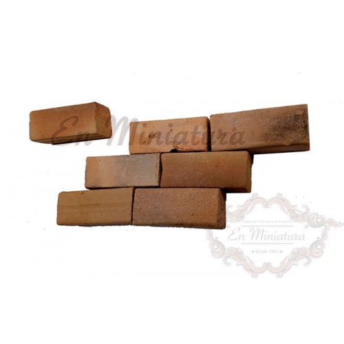 Rustic solid brick ladder 1:10