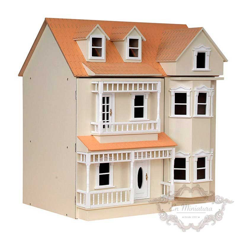 Exmouth dollhouse, Unpainted