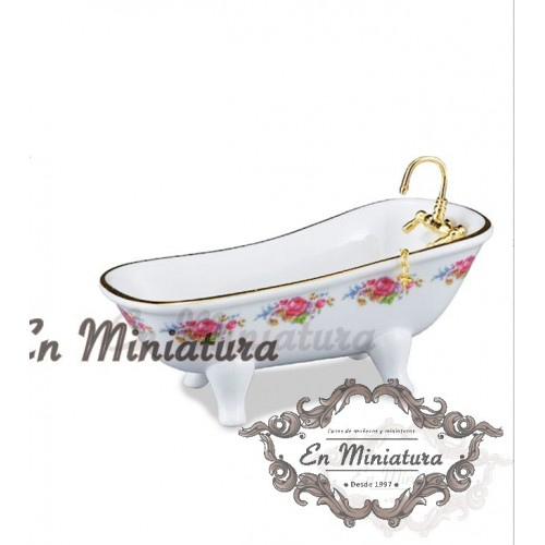Reutter porcelain bathtub