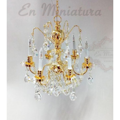 Austrian crystal chandelier