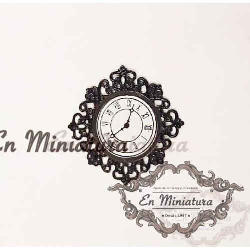 Reloj de pared filigrana