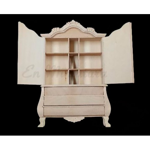 Wardrobe dollhouse