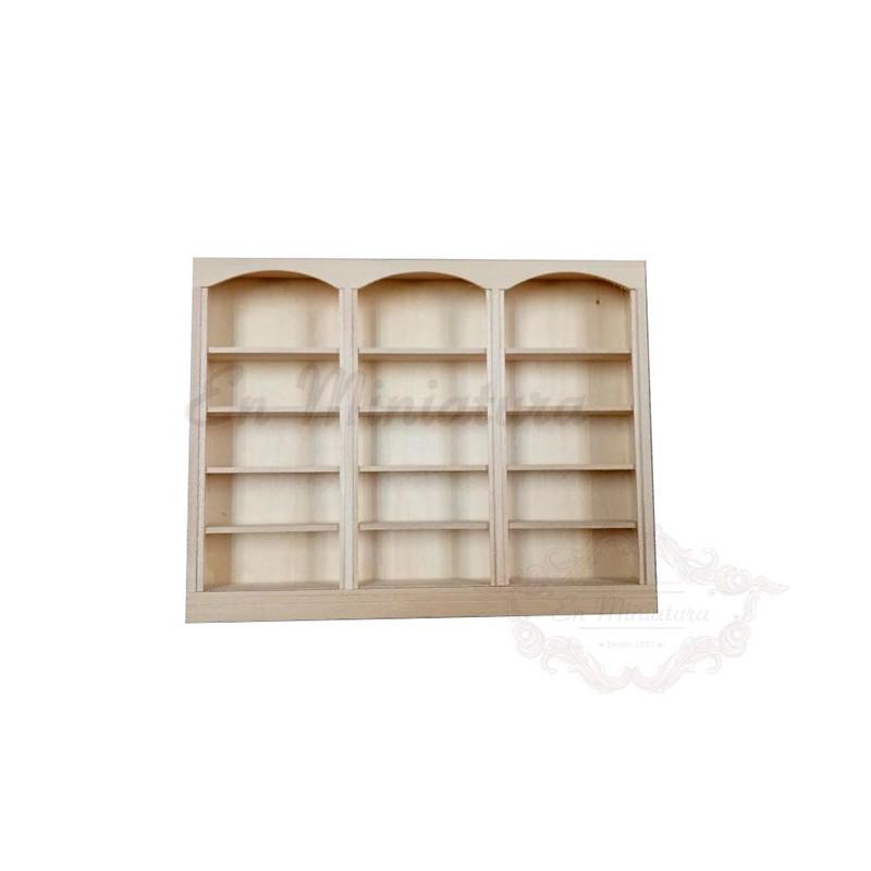 Triple shelves