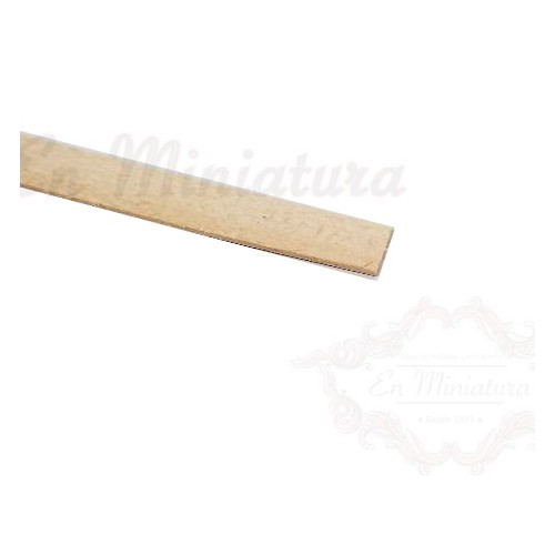 Flat strip 1mm thick, Linden
