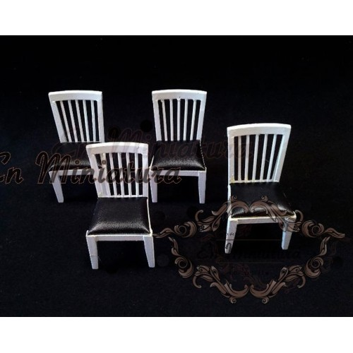 Modern chair, Set of four