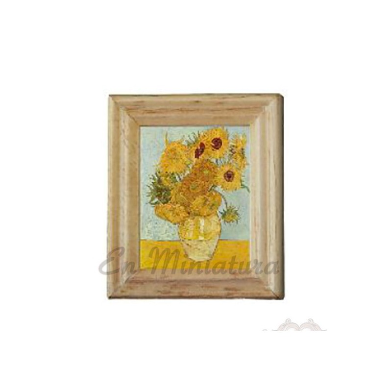 Van Gogh Sunflowers Frame