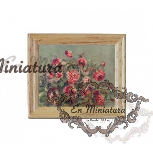 Cuadro, Rosas Impresionistas