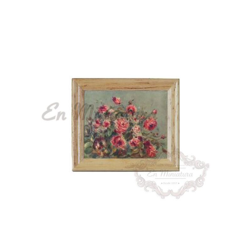 Picture, Impressionist Roses
