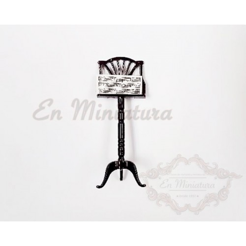 Music stand with case