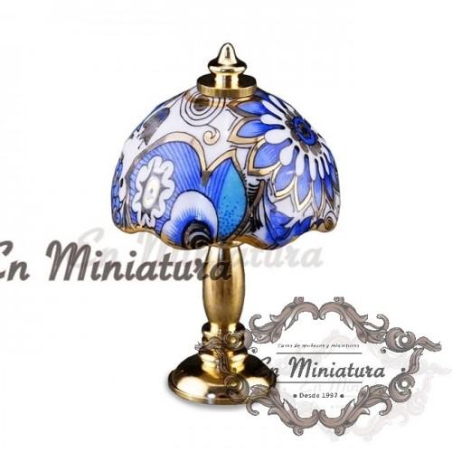 Lámpara porcelana Reutter
