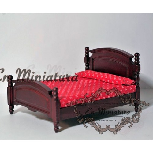 Mahogany Marriage Bed