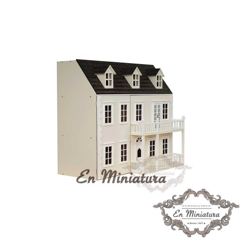 Dollhouse, Glenside Grange Painted Cream
