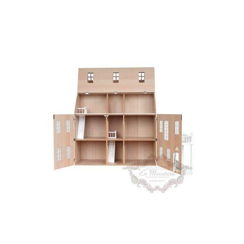 Casa de muñecas,  Glenside Grange  Pintada crema
