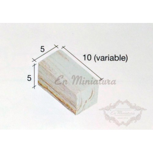 Box of 3000 units, Marbled brick for mock-ups