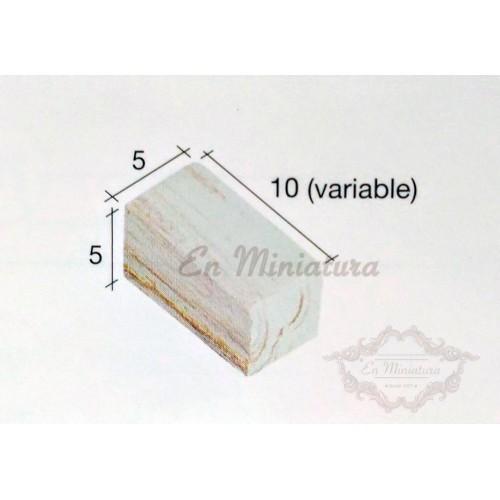 Caja de 3000 unidades, Ladrillo jaspeado para maquetas ( Pequeños)