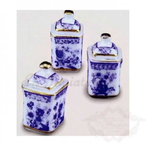 Frascos de porcelana de reutter