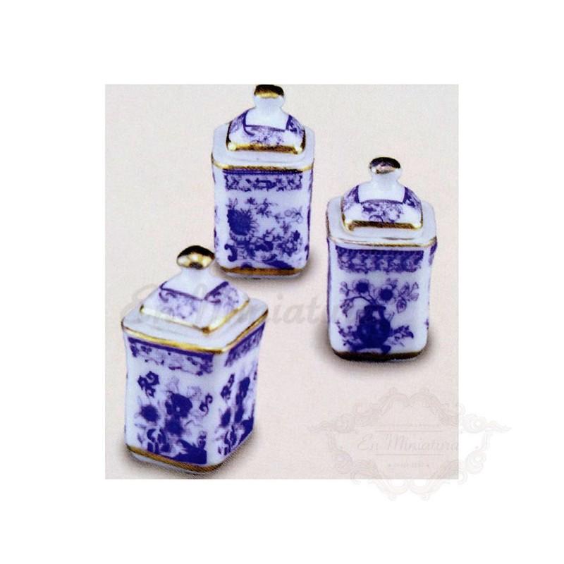 Reutter porcelain bottles
