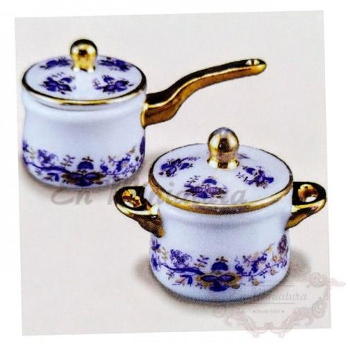 Cacerolas de porcelana
