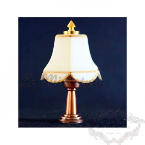 Lámpara de mesilla led a pila
