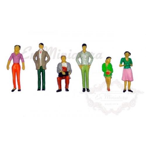 Personajes para maquetas