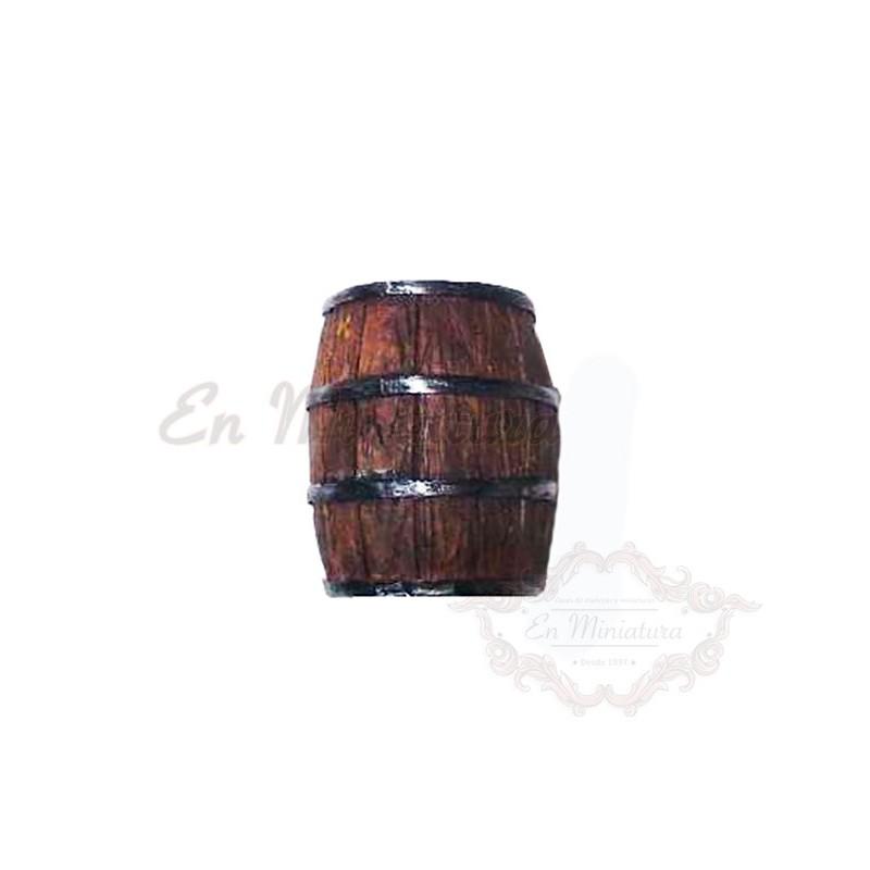 Barrel in resin