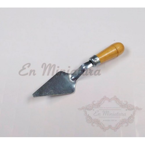 Masonry trowel for models