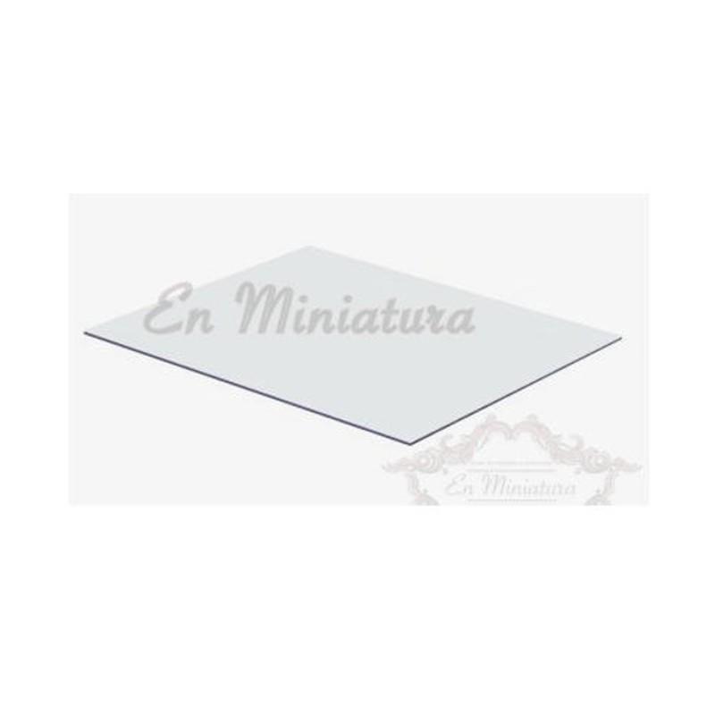 Flexible PVC glass
