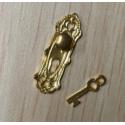 Tiradores o manilla para  puerta con llave