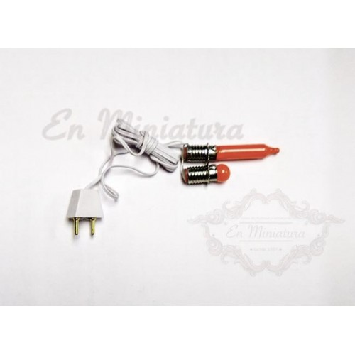 12V fire effect bulb