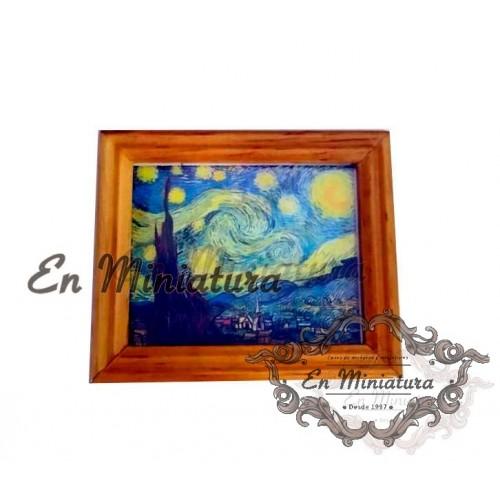 Cuadro, Noche estrellada ( Van Gogh )