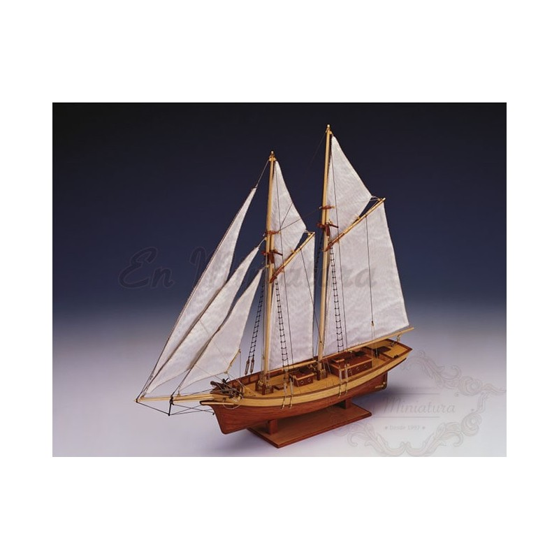 Ship model, Carmen 1:80