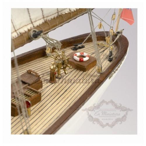 Maqueta de Barco, Histórico Altaïr