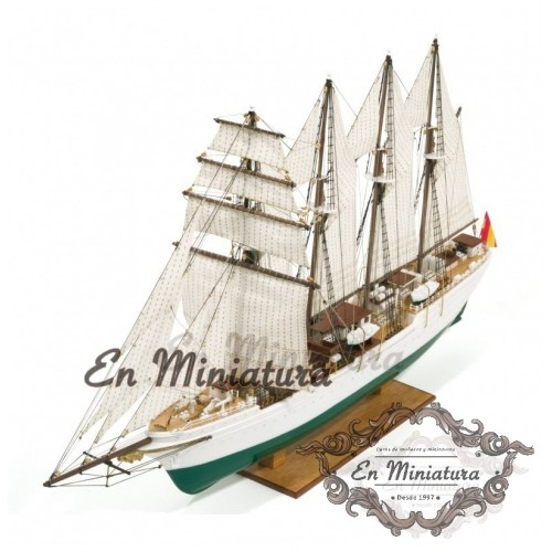 Ship model, Juan Sebastián Elcano