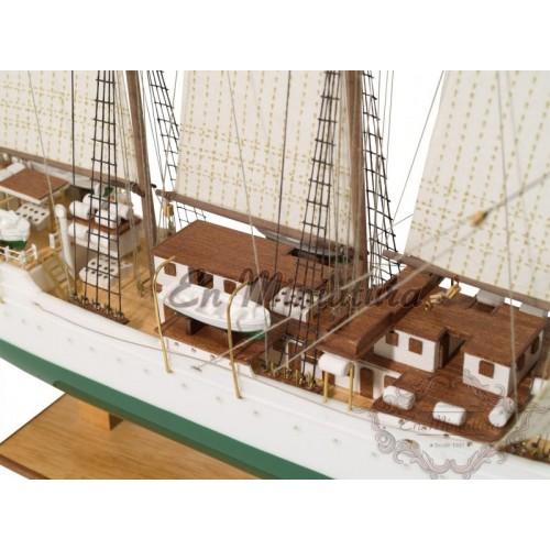 Maqueta barco, Juan Sebastián Elcano
