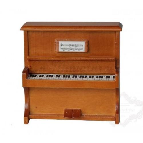 Piano de Pared Color madera