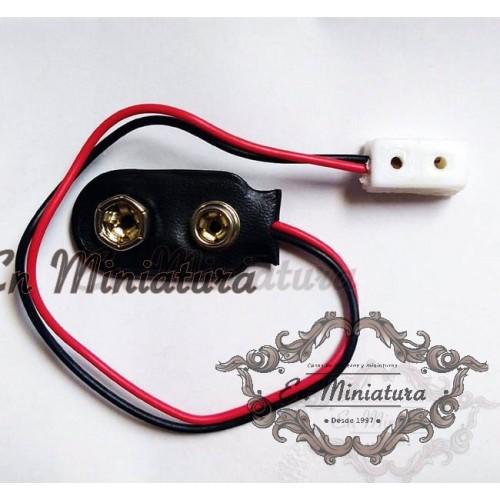 Conector para pila de 12V