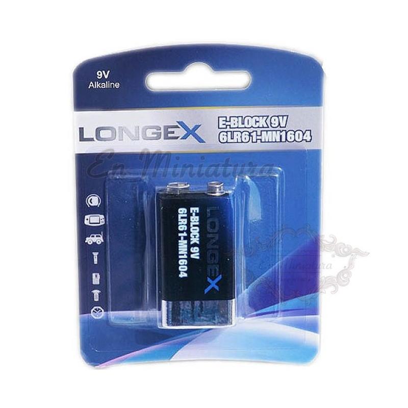 Alkaline battery 9V Longex LR09