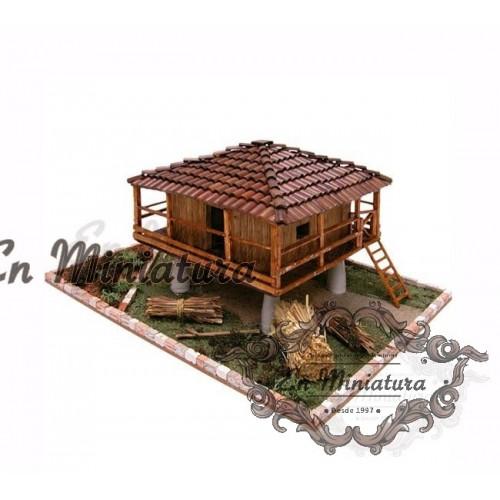 Asturian granary model