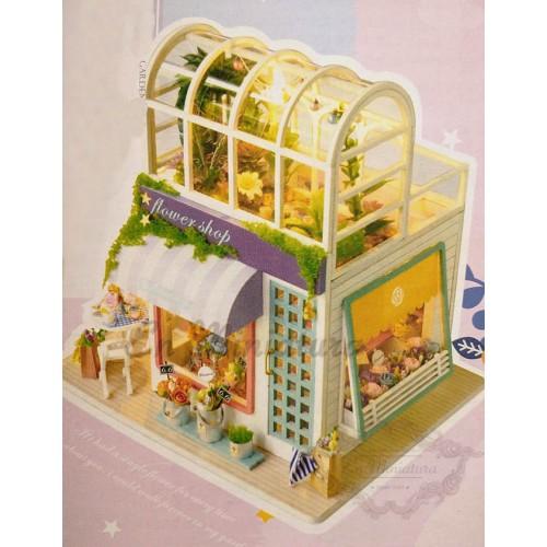 Flower shop, Gardening scene